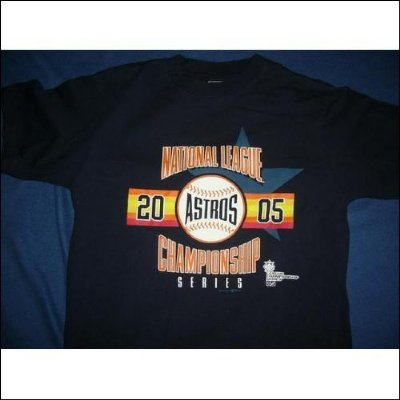Houston ASTROS Baseball MLB T-Shirt: M