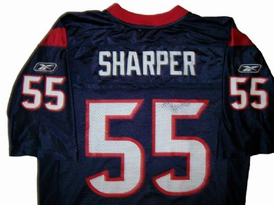 Houston Texans #55 Sharper NFL On-Field tröja: M