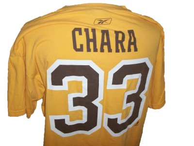 Boston+Bruins+#33+Chara+NHL+T-Shirt:+L+