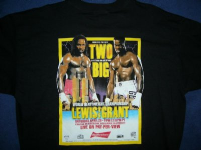 Lennox Lewis tröja Two Big XL