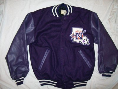 Letterman jacka N.W. Louisiana Demons: M