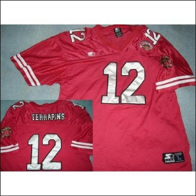 Maryland Terrapins::: NCAA Football tröja PRO::: #12::: L