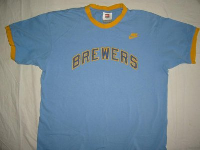 Milwaukee Brewers T-Shirt MLB Baseball: M