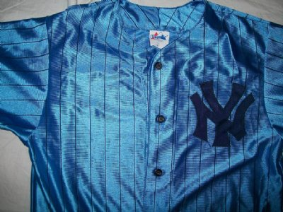 New York Yankees MLB Baseball skjorta Majestic 3rd: M
