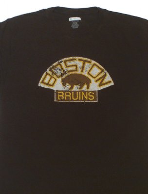 Boston+Bruins+CCM+retro+NHL+T-Shirt:+M+