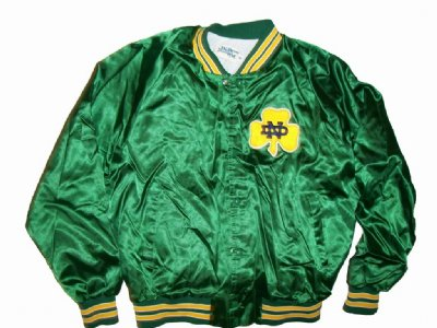 Notre Dame Fighting Irish Jacka: XL