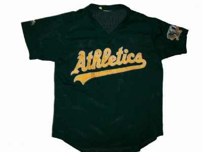 Oakland A´s Athletics #10 MLB Baseball skjorta: L