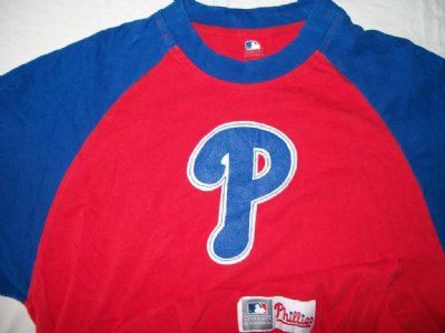 Philadelphia Phillies MLB Baseball T-Shirt: M