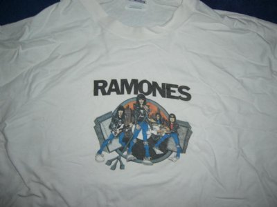 Ramones tröja Road to Ruin XL