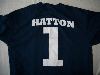 Ricky Hatton T-Shirt #1 Manchester City: L