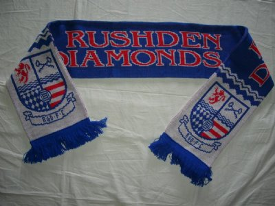 Rushden & Diamonds Halsduk Logo