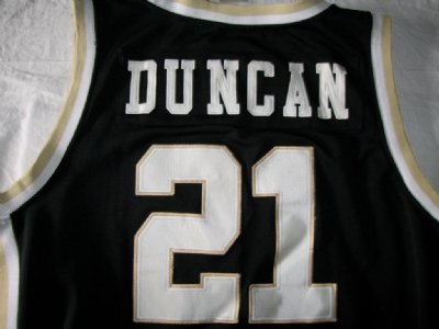 San Antonio Spurs #21 Duncan Wake Forest NBA Basket linne PRO: XXL