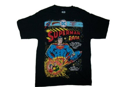 Stålmannen Superman T-Shirt: M