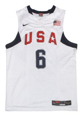Dreamteam+USA+#6+James+Basket+linne+PRO:+XXL