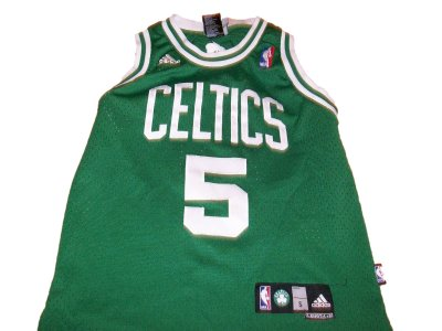 Boston+Celtics+#5+Garnett+NBA+PRO+linne:+Barn+8år