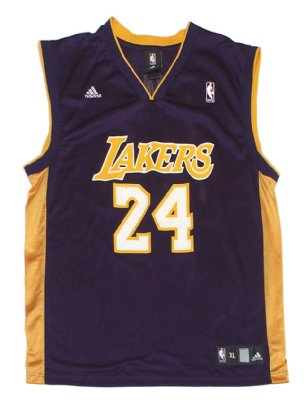 Los+Angeles+Lakers+#24+Bryant+NBA+Basket+linne:+XL