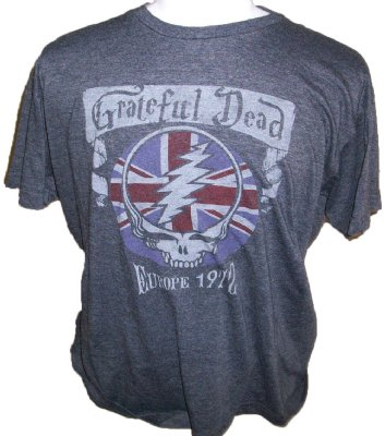 T-Shirt+Grateful+Dead+Europe+1972+Tour:+XL