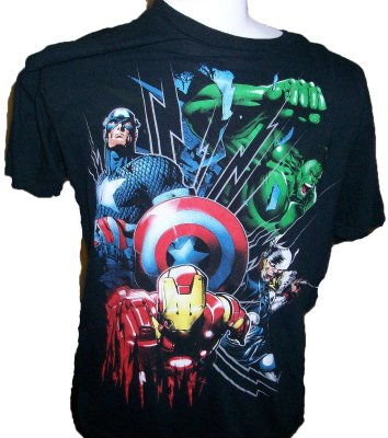 T-Shirt+Marvel:+L