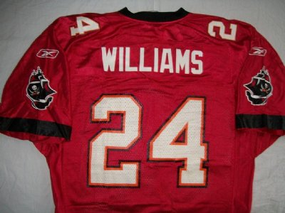 Tampa Bay Buccaneers #24 Williams NFL On-Field Matchtröja: M