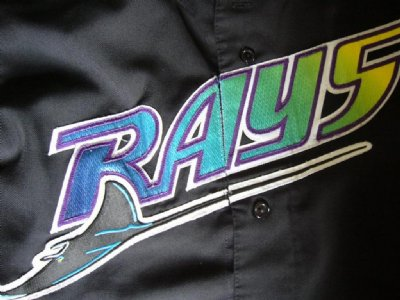 Tampa Bay Devilrays MLB Baseball skjorta: XL