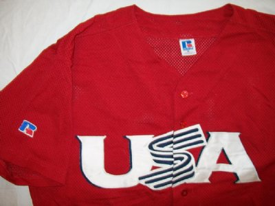 USA Team USA Baseball skjorta PRO: XL