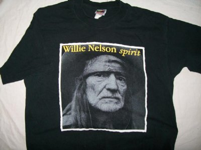 Willie Nelson World HQ Luck Texas T-Shirt: L